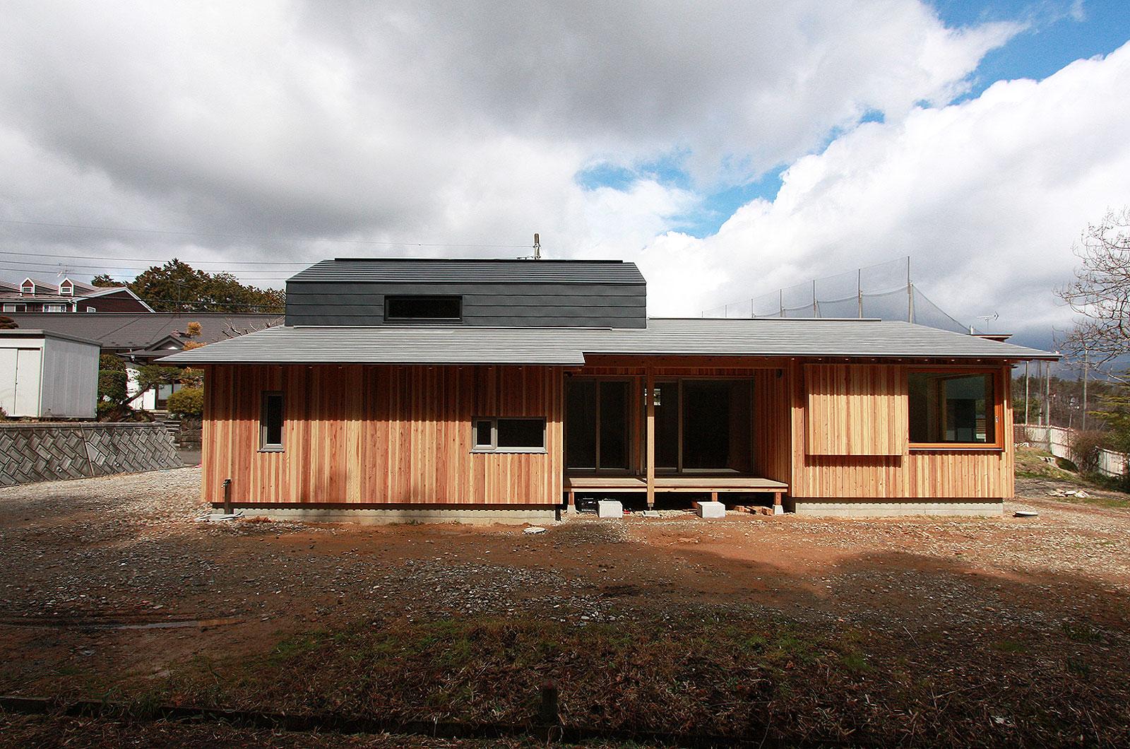 青葉山の家